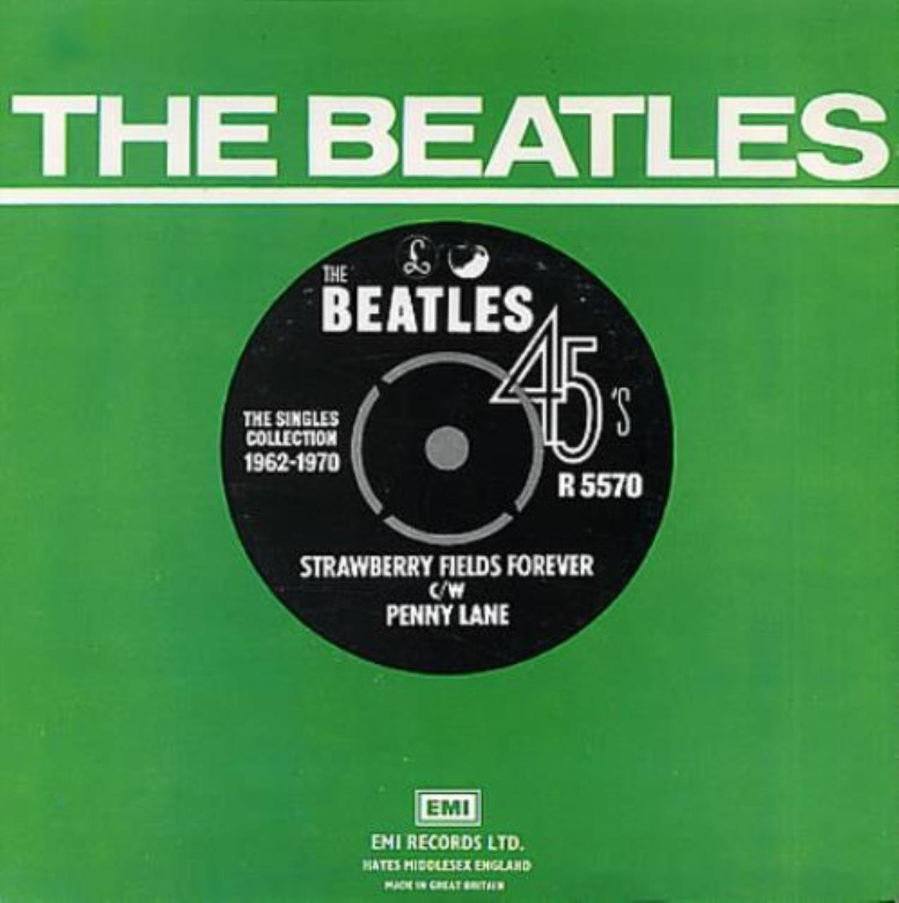 b95633212 The Beatles - Strawberry Fields Forever - 1976 - Amazon.com Music