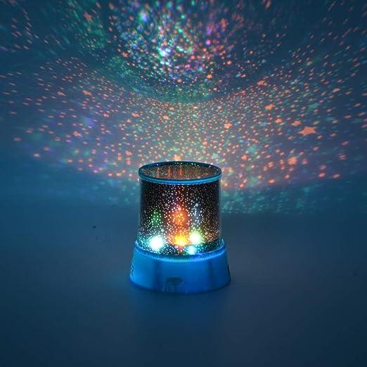 LASPERAL - Proyector de luz Nocturna LED, diseño de Cielo ...