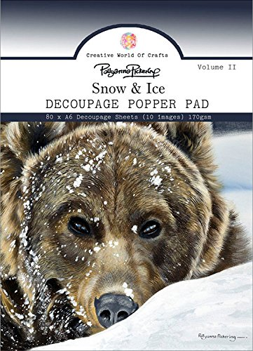Pad Decoupage (Pollyanna Pickering A6 Decoupage Pad-Vol.2 Snow & Ice)