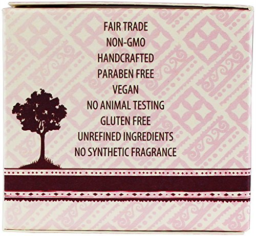 Alaffia Handcrafted Fair Trade Shea Butter 2 oz 8 100% FAIR TRADE: Feel good about how you are getting your products with 100% Certified Fair Trade Ingredients. PROTECT YOUR SKIN WITH A HANDCRAFTED FORMULA: Receive the full moisturizing and protective benefits of its unique fatty acid profile and Vitamins A and E with our traditionally handcrafted, unrefined shea butter. EVERYDAY FOR EVERYONE: Traditional formula suits all skin types.