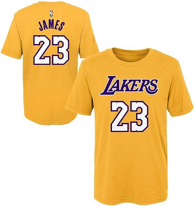 Amazon.com: Outerstuff Lebron James Los Angeles Lakers #23 ...