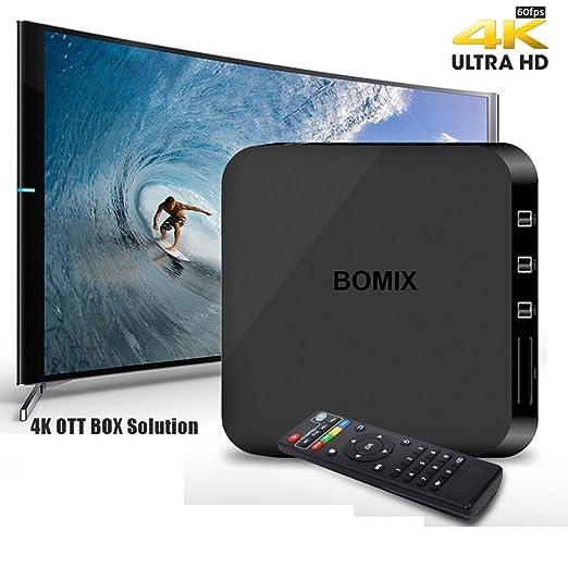 Amazon com: JUNING Android TV Box Amlogic S805 RAM 1GB ROM 8GB 1080P