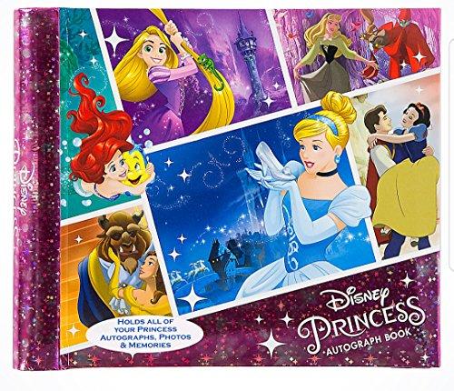 Albums Autograph Disney (Disney Theme Parks Deluxe Princess Autograph Book Dream Big 4x6 Photo Album)