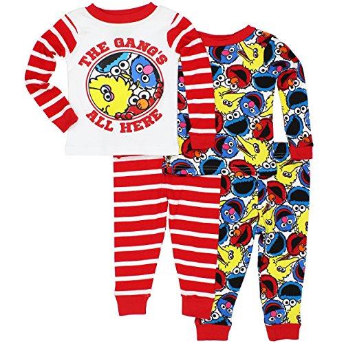 sesame-street-boys-4-piece-cotton-pajama-set-multi-24-months