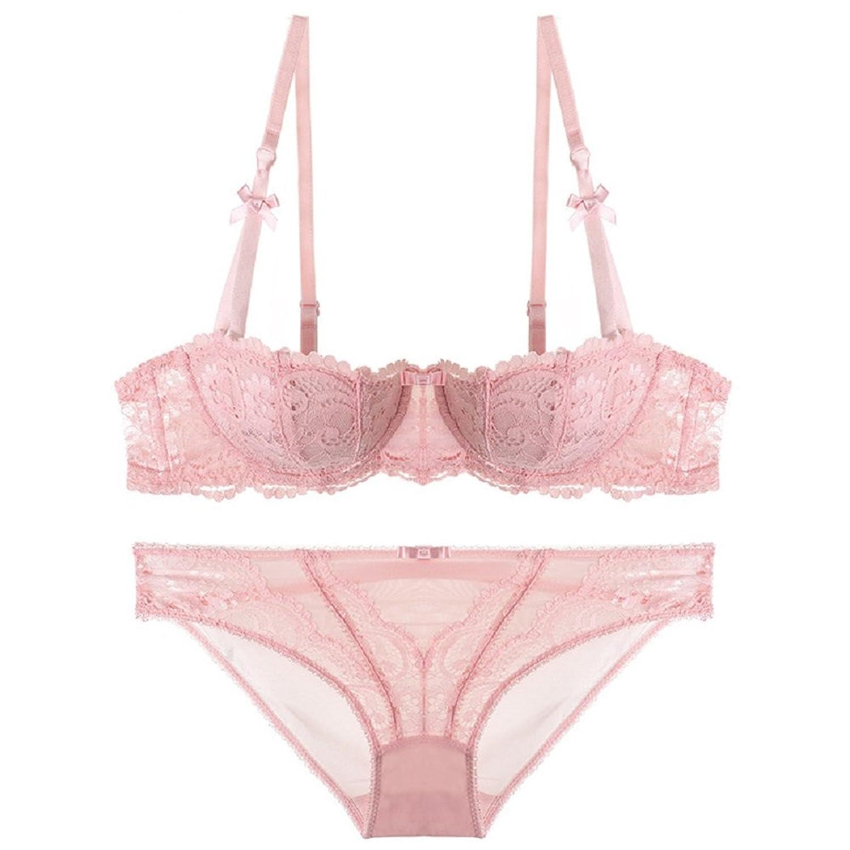 buy online 6d550 de118 Oudan Damen Dessous Set Ungefüttert Bralette Unterwäsche ...