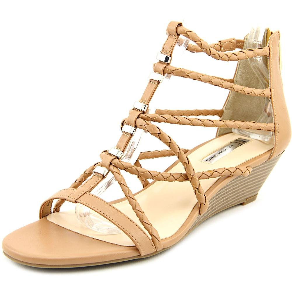 INC International Concepts Womens Makera Open Toe Casual Strappy Sandals B06X941J42 9.5 B(M) US|Honey