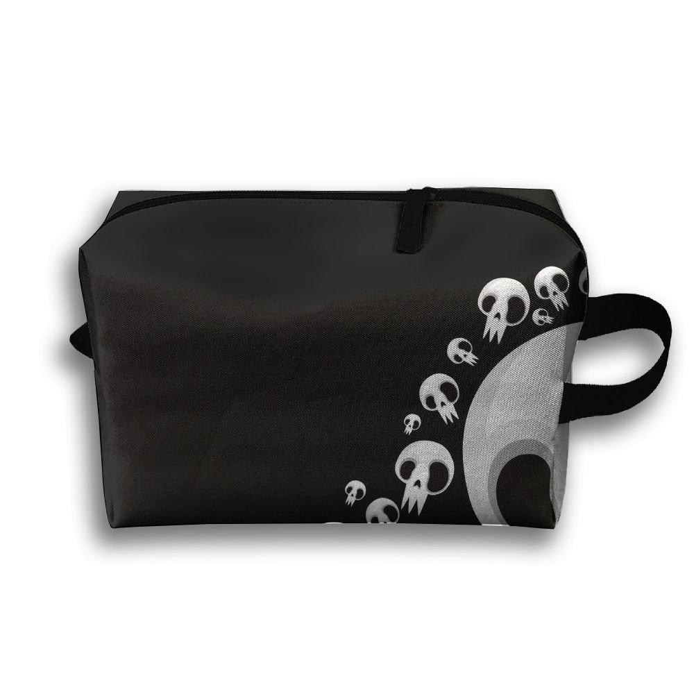 8df5cb001e8b chic Yiot Cute Skull Travel Toiletry Organizer Bag - webcam ...