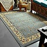 Brief/ikea/modern/cream/blue/area rugs/carpet/living dining room bedroom-blue 100×100cm (square)