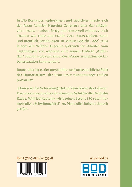 Denk Mal German Edition Wilfried Kapteina 9783844889598
