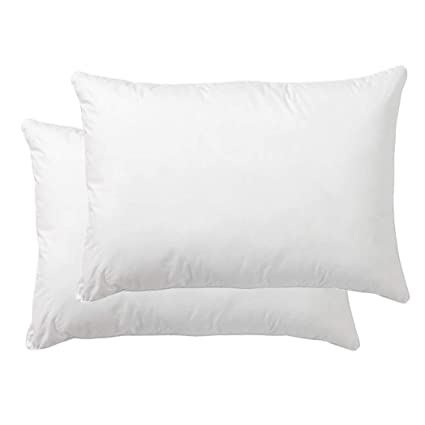 Amazon Danmitex Set Of 40140x400Down Feather Throw Pillow Awesome Feather Throw Pillow Inserts