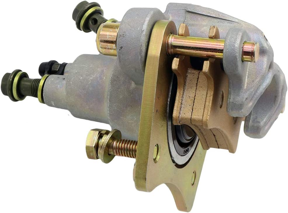for ATV Rear Brake Caliper With Pads For Polaris Sportsman 400 450 500 600 700 800 Replace Part Number 1911075 1911478