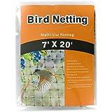 NaiteNet Blueberry Net- Cover Fruit Trees and Vegetables- Animal Netting, Black 7ft x20ft