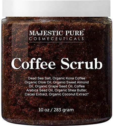 Body Washes & Gels: Majestic Pure Coffee Scrub