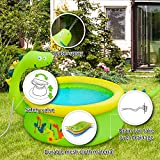 Lunvon Inflatable Swimming Pool for