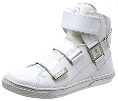 11d2c869169 Amazon.com | VLADO Aristocrat 2 II Men's High Top Shoes, White, 13 M ...