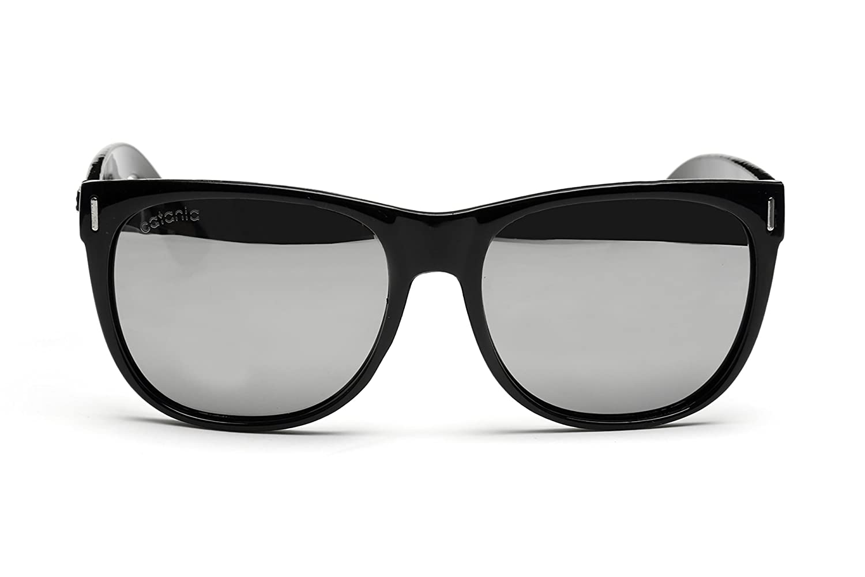 Catania Occhiali Gafas de Sol Polarizadas - Estilo: Wayfarer Classic (UV400) - Incluye Funda y Toallita de Limpieza Temporada