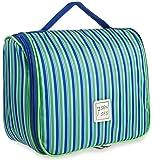 7Senses Toiletry Bag Hanging Cosmetic Bag Toiletry Kit - Large Travel Bag for Women, Girls...