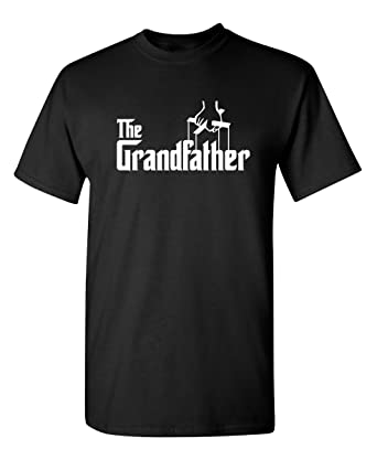 093084c72 Feelin Good Tees The Grandfather Gift for Dad Father's Day Mens Funny T  Shirt S Black2