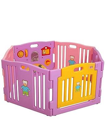 Amazon Com Pink Purple Baby Playpen Kids Playpen Baby Play Yards