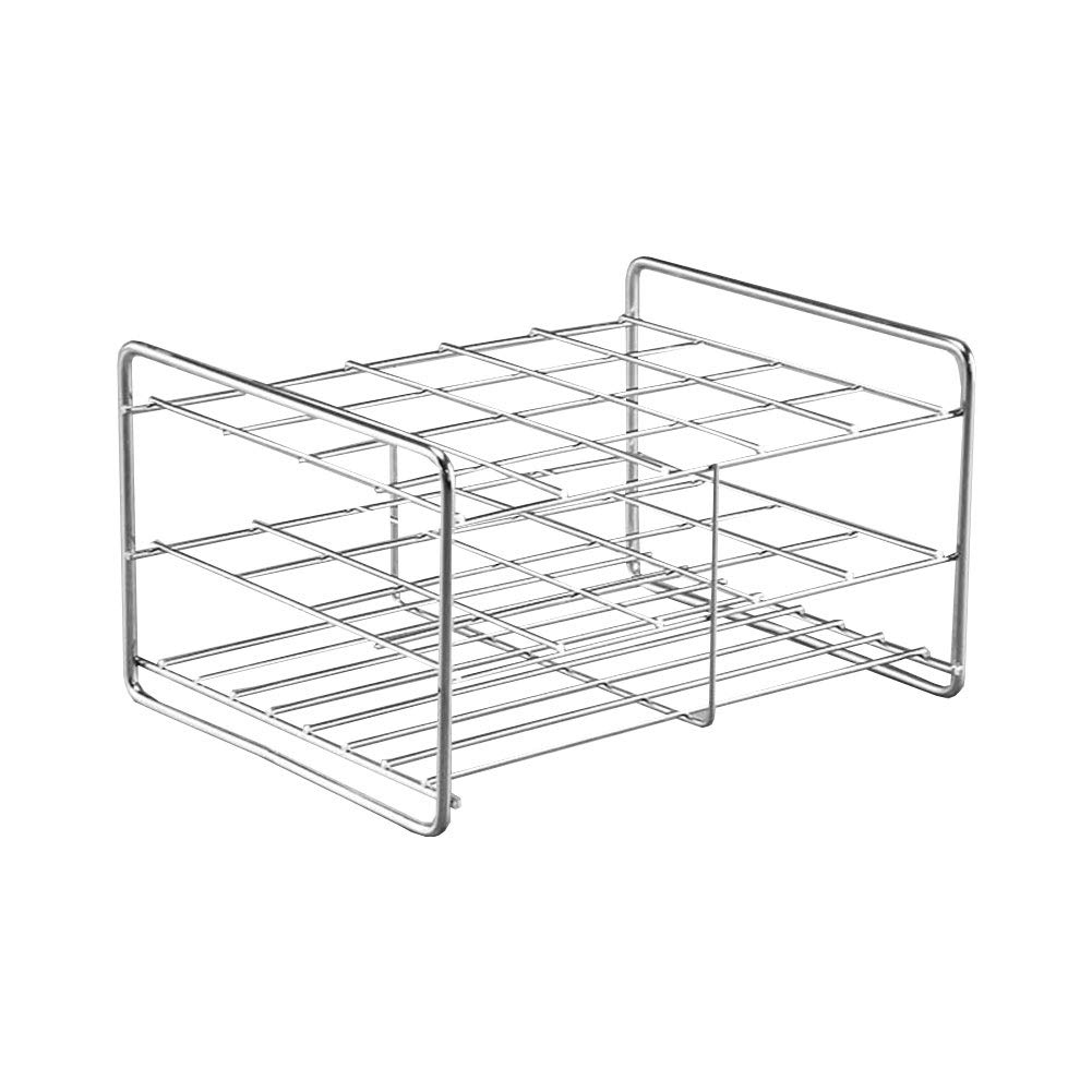 Stainless Steel Test Tube Rack,20 Holes,Outer Diameter Permitted of Tubes 29-31mm,Wire Constructed, 5x4 Format,Adamas-Beta by Adamas-Beta