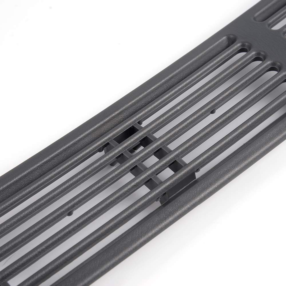 Grey Graphite Dash Defrost Vent Cover Grille Panel Replacement 15046436 for 1998-2004 Chevrolet Blazer S10 GMC Jimmy Oldsmobile SUV Pickup Truck