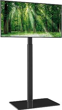 Soporte TV con Giratorio y Altura Ajustable para TV de Plasma/LCD ...