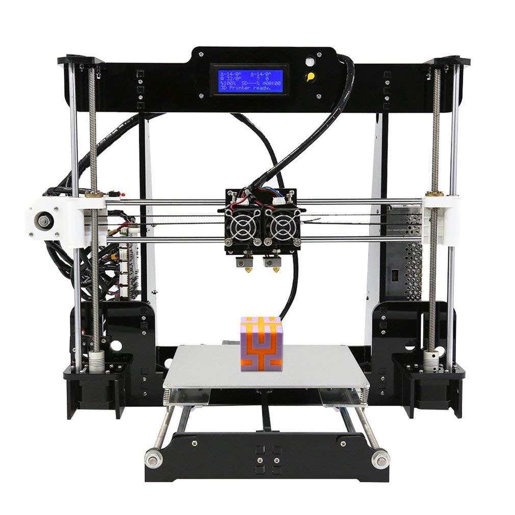 Anet tamaño de impresión de la impresora 3d de doble boquilla de ...