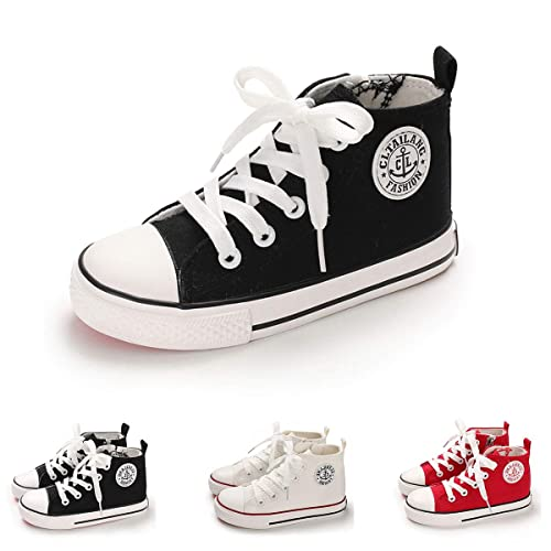 b470f0d97ed BENHERO Kids Boys Girls Canvas High Top Gym Shoes Trainers  Sneakers(Toddler/Little Kid/Big Kid)