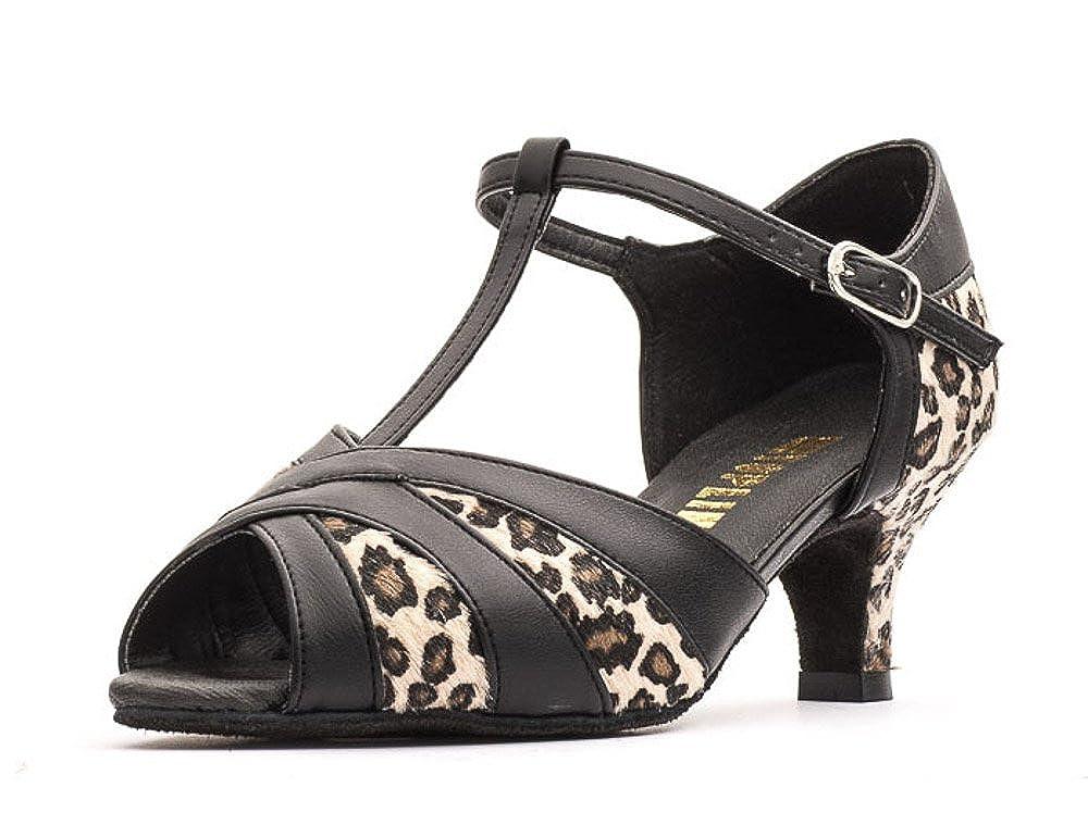 Ladies Social Ballroom Dance Shoes Helen 2.5 Flare Heel by Topline Katz Dancewear
