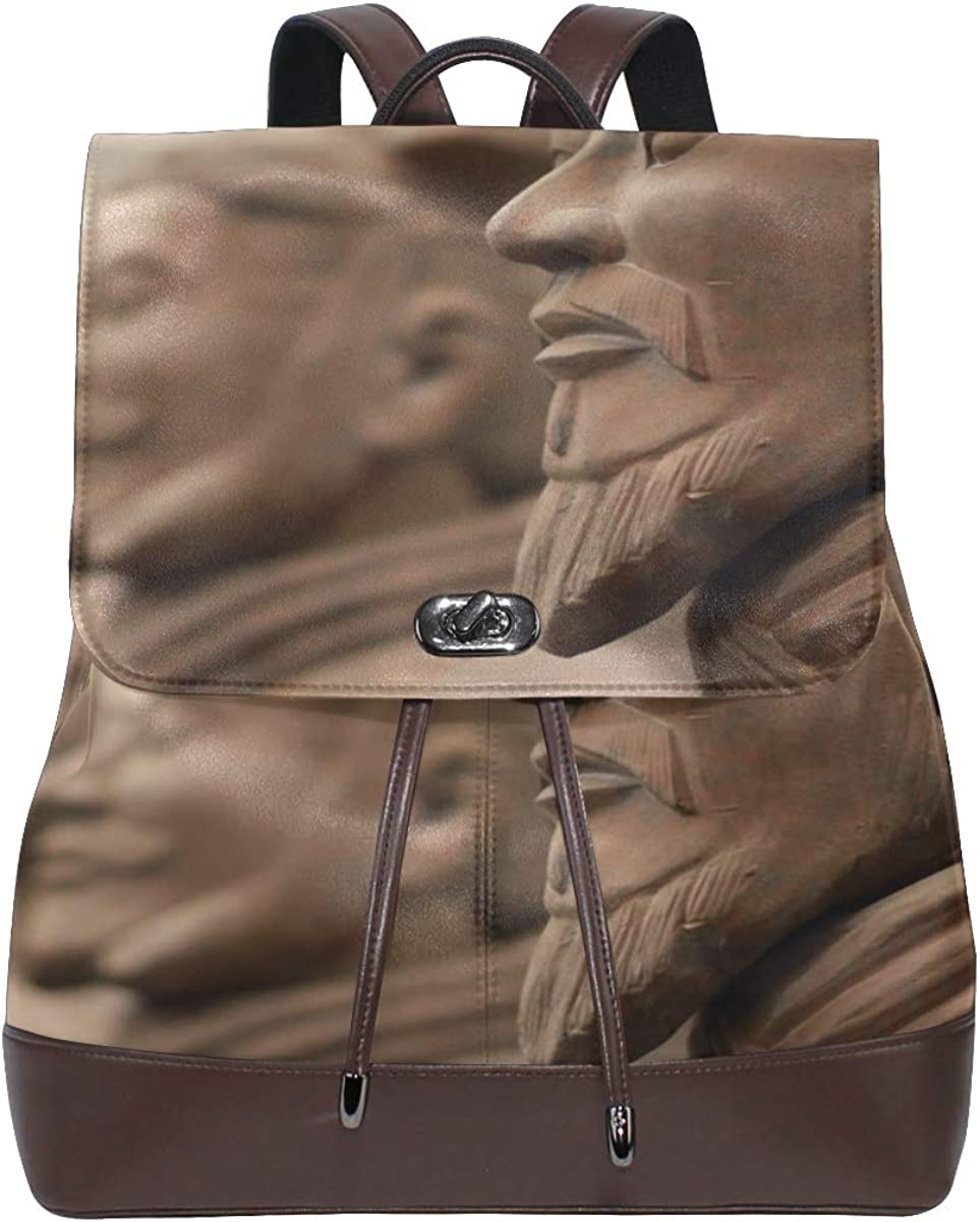 Il Patrimonio Di Tutto Il Mondo Di Terracotta Leather Bag Backpack Women Fashion Bags Drawstring Waterproof Leather Backpacks Ladies Shoulder Bags For Women