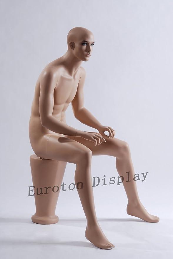 Eurohandisplay M-10 m/ännlich Schaufensterfigure Schaufensterpuppe Mannequin