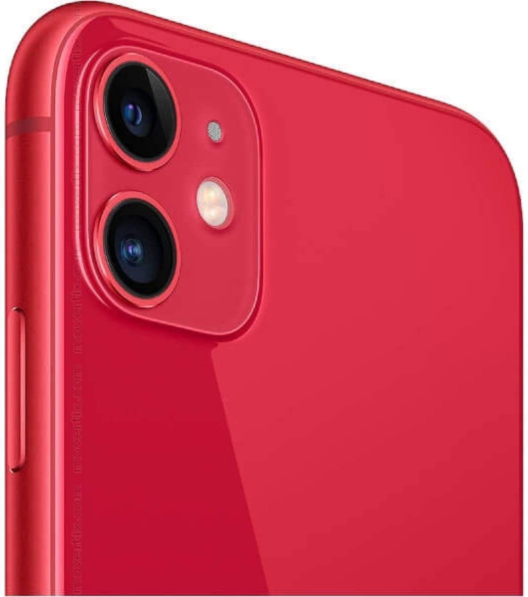 Apple iPhone 11, 128GB, Red - Fully Unlocked (Renewed)