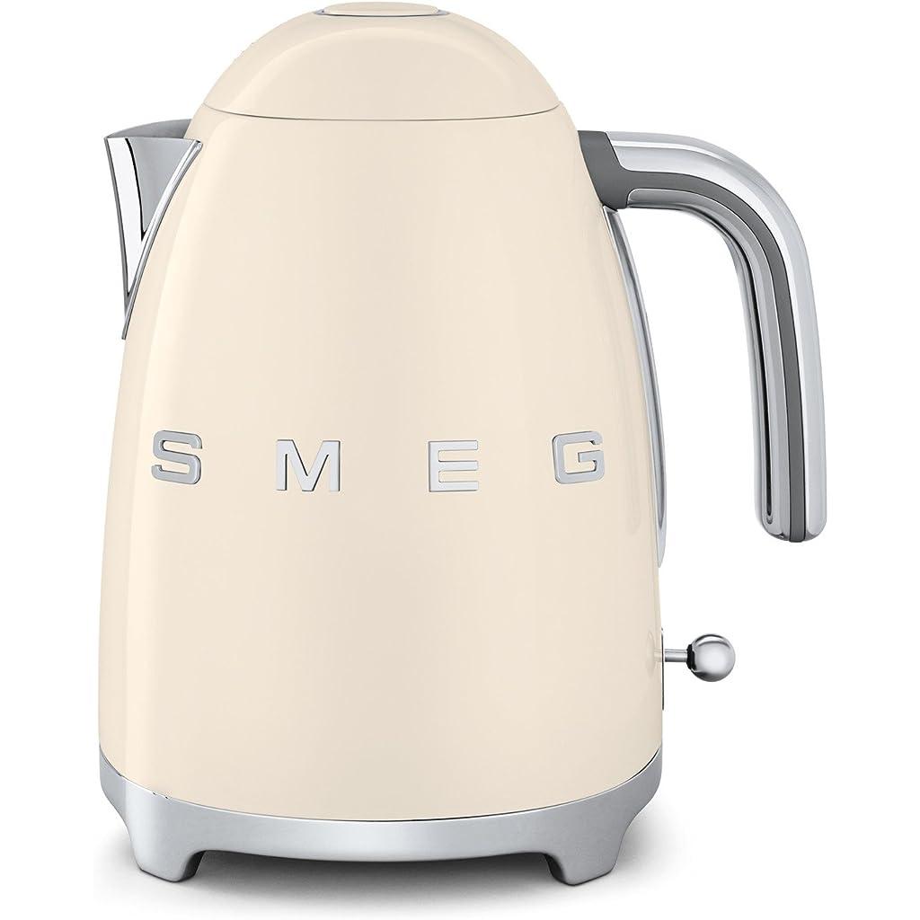 Smeg 1.7L Cordless Kettle - Cream