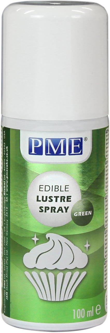 Spray Lustre Comestible PME Verde 100 ml