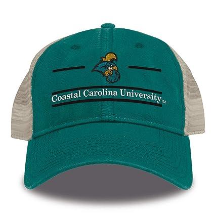 b50274ae Buy The Game NCAA Coastal Carolina Chanticleers Split Bar Design Trucker  Mesh Hat, Teal, Adjustable Online at Low Prices in India - Amazon.in