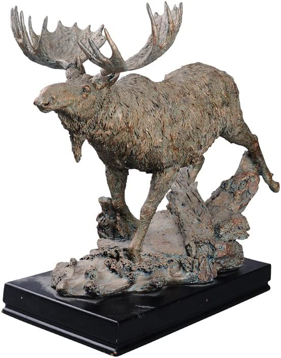 Comfy Hour 20051 Wild Moose Figurine, 13-inch Length