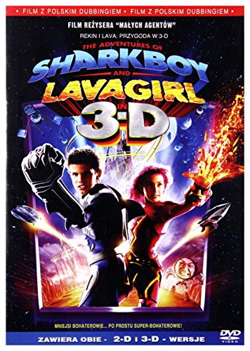 The Adventures of Sharkboy and Lavagirl in 3-D (English audio. English subtitles)