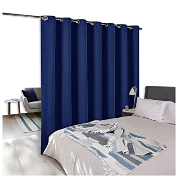Amazoncom Nicetown Room Divider Curtain Screen Partitions