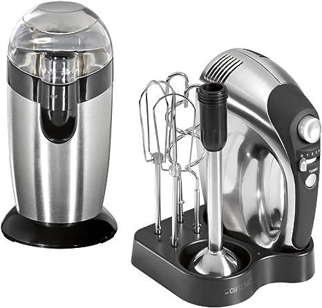 Kitchen Set Hand Coffee Grinder Mixer Kitchen Appliances Modern Stainless Steel Clatronic Hm3471 Ksw3307 Amazon De Kuche Haushalt
