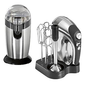 Amazon.de: Küchen-Set Handmixer Kaffeemühle Küchengeräte Edelstahl ...