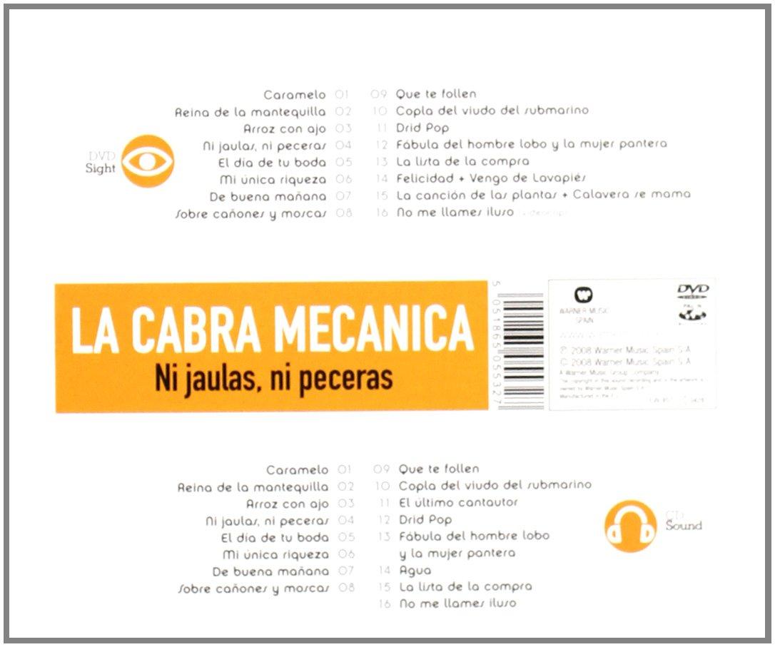 Cabra Mecanica - Sight & Sound: Ni Jaulas Ni Peceras - Amazon.com Music