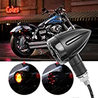 Intermitente y luz moto LED adicional Chopper Harley