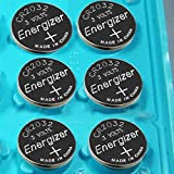 Pack of 6 -- Energizer Cr2032 3v Lithium Coin Cell Battery Dl2032 Ecr2032