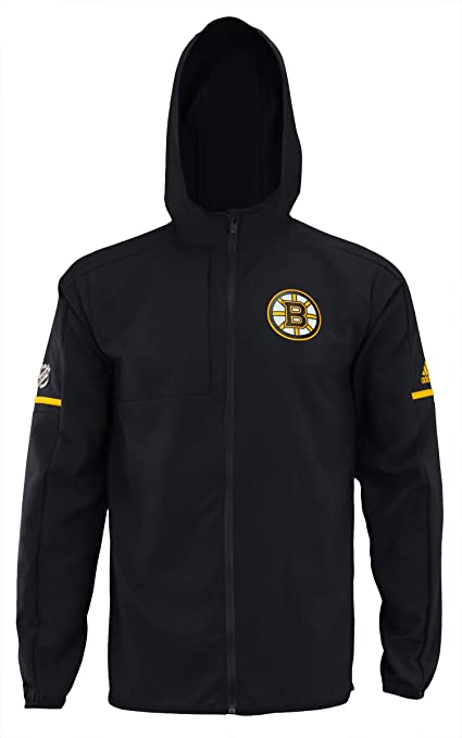 adidas NHL Center ICE Finished Training JKT Bruin BLK Train NHL Bruins Size  S 56b0d6bd5