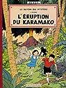Jo Zette et Jocko, tome 4 : L'Eruption du Karamako par Hergé