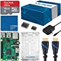 Vilros Raspberry Pi 3 Complete Starter Kit - Clear Case by Vilros Kits