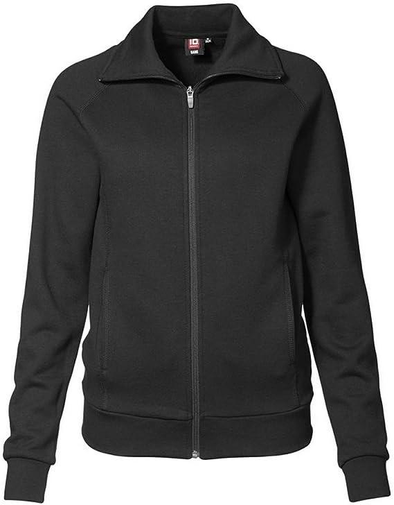 ID Damen Sweatshirt mit Reißverschluss, reguläre Passform