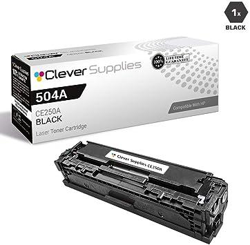 4x Toner Set For HP CE250A 504A LaserJet CP3520 CP3525 CP3525X CP3525DN CP3525N