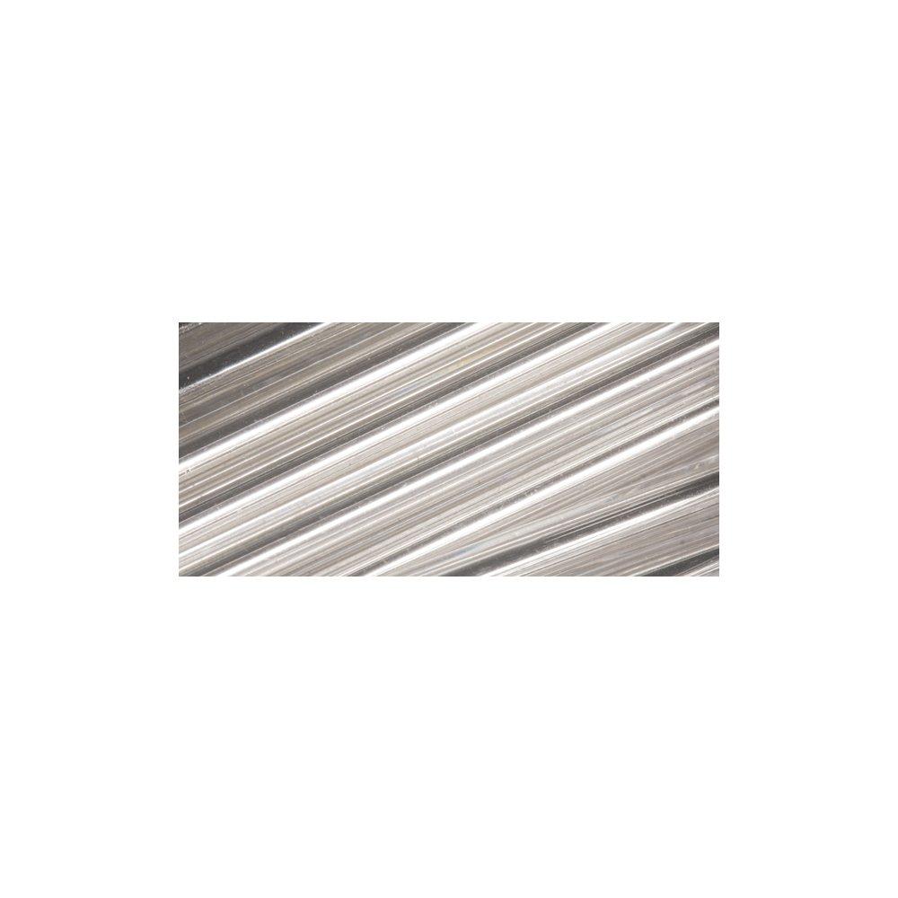Dose 12g Rayher 1405122 Glasstifte 30 mm mit Silbereinzug silber