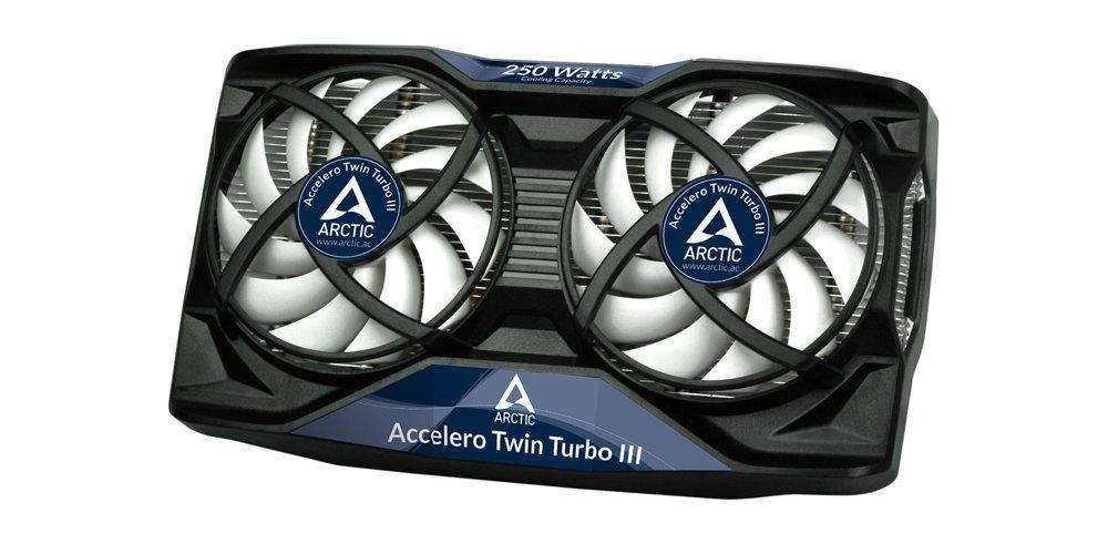 ARCTIC Accelero Twin Turbo III - Enfriador con 2 Ventiladores de 92 mm de tarjetas gráficas silenciosos y disipador - Negro: Amazon.es: Informática